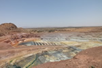 Bisha Main North Pit with exposed supergene and transitioned ore May072012