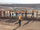 Investor Tour Overlooking Bisha Pit South Dec 2013