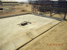 Partial View of Concentrate Storage Pad w Drainage Apr 2013